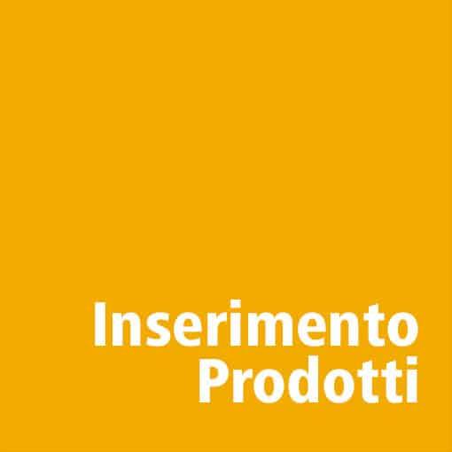 Inserimento Prodotti per siti e commerce