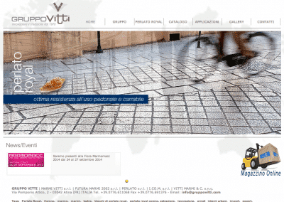 Gruppo Vitti | Industria Marmi