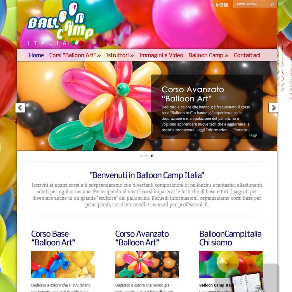 BalloonCampItalia | Corsi di Balloon Art