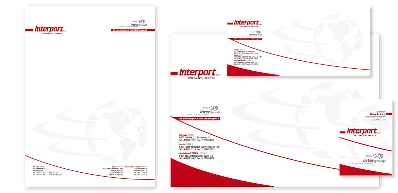 Interport Gaeta Realizzazione immagine coordinata