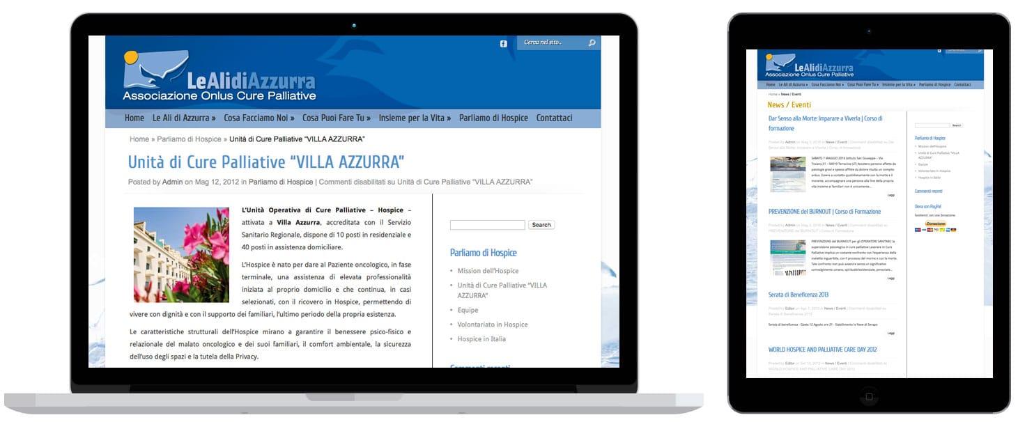 Le Ali di Azzurra - Realizzazione siti web Terracina