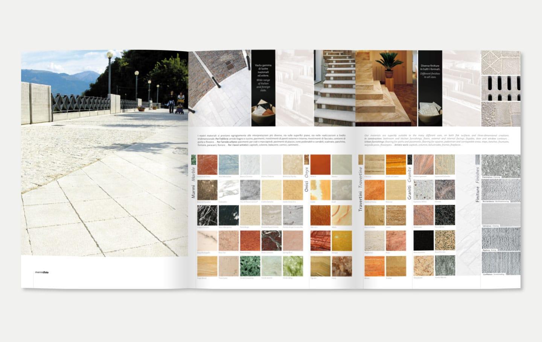 Realizzazione Brochure Aziendali Marmi Zola