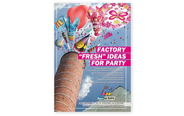 rocca fun factory adv campagna pubblicitarie