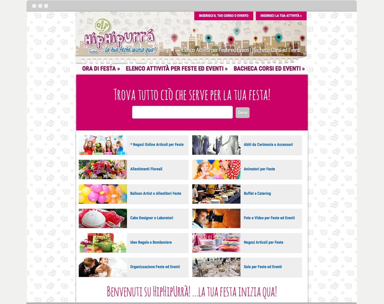 realizzazione sito web hiphipurra