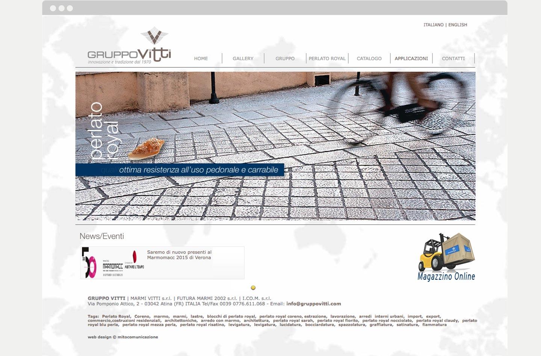 Marmi Vitti Realizzazione siti web Frosinone
