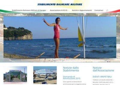 Stabilimento Balneare Militare di Serapo