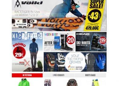 BotteroSki | Sito E Commerce Abbigliamento