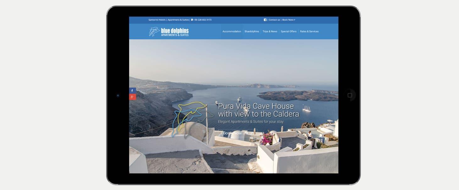 Posizionamento sito web sui motori di ricerca Hotel Blue Dolphins