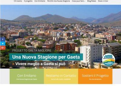 Una Nuova Stagione per Gaeta | Emiliano Scinicariello | Elezioni Comunali Gaeta