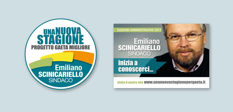 Realizzazione sito web Scinicariello Elezioni Comunali Gaeta