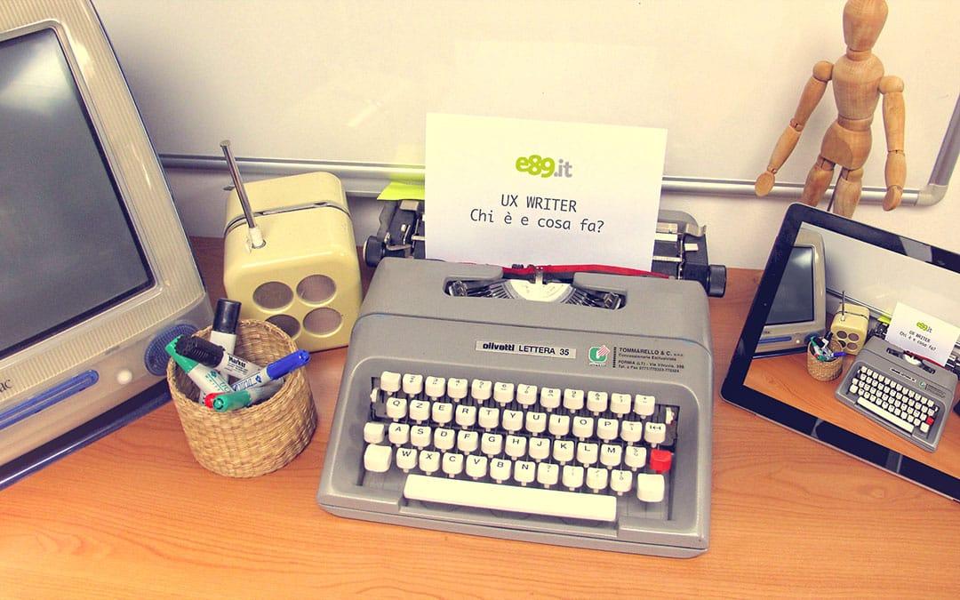 UX writer, chi è e cosa fa lo stratega del microcopy