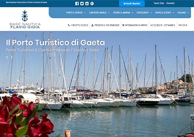 Base Nautica Flavio Gioia | Portale Sito Aziendale